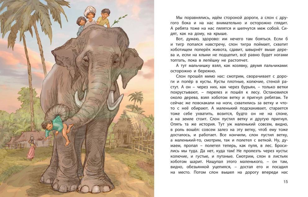 Картинка к рассказу небесный слон